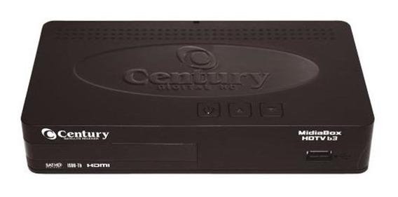 Receptor Midia Box Hd Century Hdtv B3
