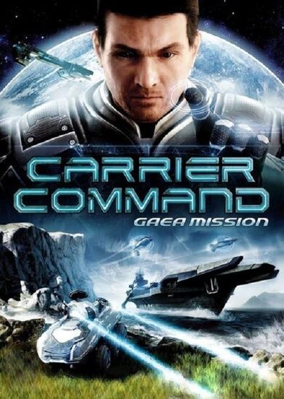 Jogo Carrier Command Gaea Mission Pc Steam Key Original