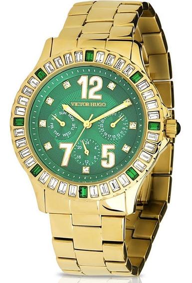 Relógio Victor Hugo Diamond Feminino - 10008lsg/19m