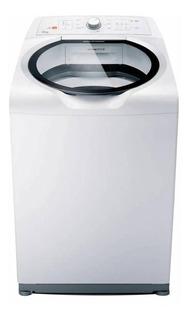 Lavadora de roupas automática Brastemp BWH15 branca 15kg 110V