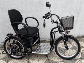 Triciclo Elétrico Advanced 1000 W 48 V Tração Traseira Wind