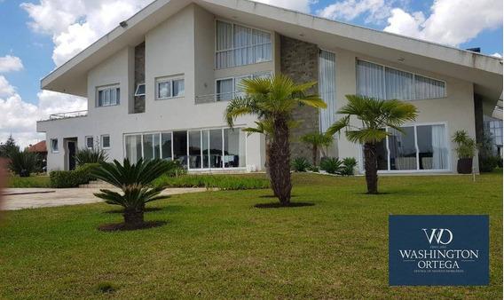 Residencia Alto Padrão Com 4 Dormitórios À Venda, 560 M² Por R$ 2.900.000 - Campo Largo Da Roseira - São José Dos Pinhais/pr - Ca0127