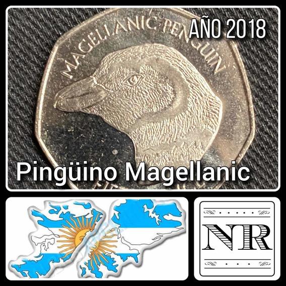 Malvinas - Falkland - 50 Pence - Año 2018 - Pingüinos #4