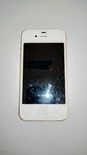 iPhone 4s 8g Branco (retirada De Peças)