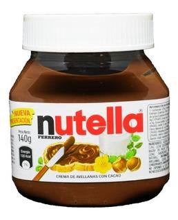 Nutella Crema De Avellanas Ferrero 140 Gr