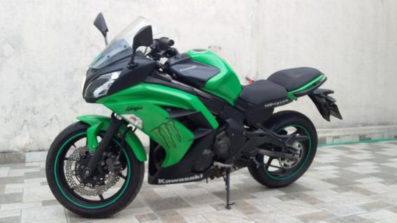 Kawasaki Ninja 650r 12/13 Recuperada