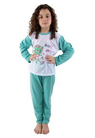 1876d8d66 Roupa de Dormir Pijamas para Meninas Verde no Mercado Livre Brasil