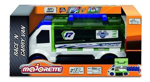 Camión Majorette Race Carry Van Original!!