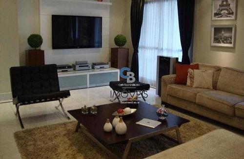 Imagem 1 de 24 de Apartamento Com 2 Dormitórios À Venda, 126 M² Por R$ 950.000,00 - Anália Franco - São Paulo/sp - Ap5615