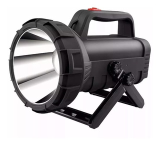 Lanterna Holofote Led 10w Recarregavel De Longo Alcance