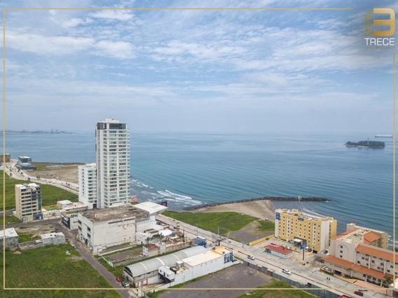 Departamento En Torre Atelier Con Espectacular Vista Al Mar
