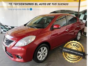 Nissan Versa 2013 Exclusive, Piel, Automatico