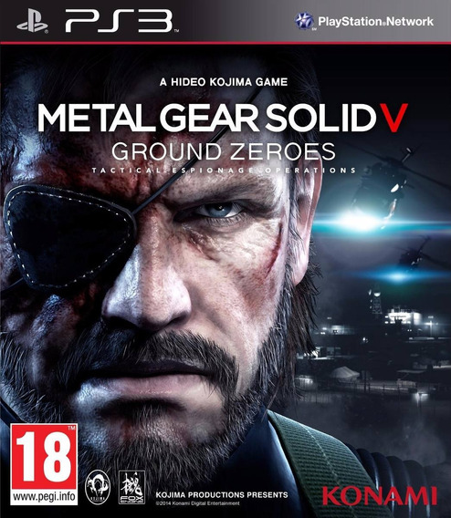 Metal Gear Solid V: Ground Zeros Ps3 - Midia Digital