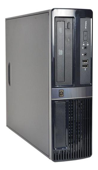 Pc Desktop Hp Compaq Dx7500 Core 2 Duo 4gb 160gb Seminovo!