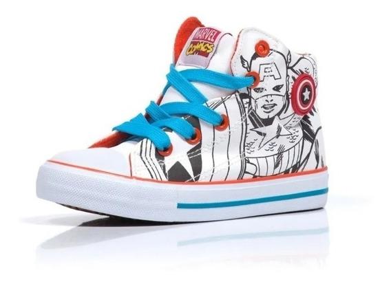 Zapatillas Botitas Marvel Comics Avenger Fty Calzados