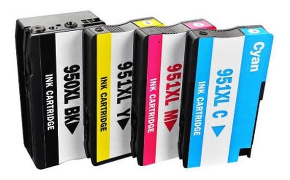 4 Cartuchos 950xl 951xl - Impressora Officejet Pro 8600 Plus