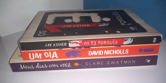 Livro 13 Porquês + Um Dia + Meus Dias Com Você