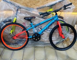 Bicicleta Stark Vulcano Rodado 24 Jovenes 10 A 15 Años