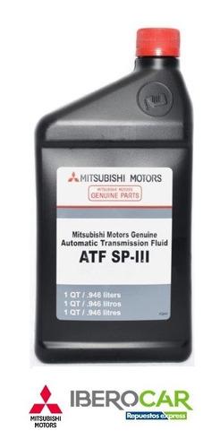 Imagen 1 de 4 de Aceite Atf - Sp Ill Original Mitsubishi Quarts 946 Ml.