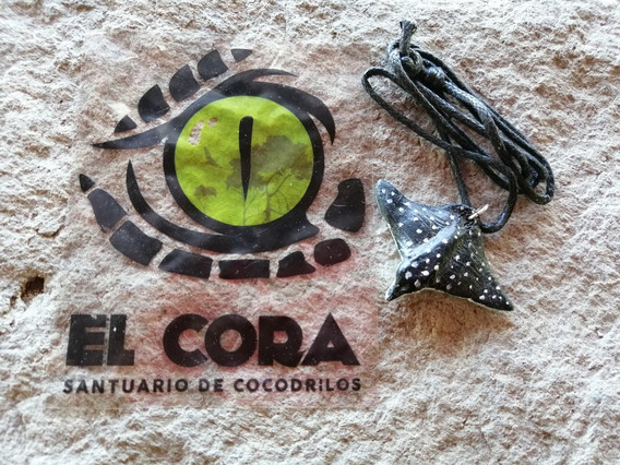 Collar Raya Águila Santuario De Cocodrilos El Cora