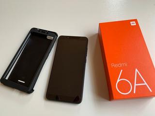 Celular Xiaomi Redmi 6a 16gb Preto Versão Global Original