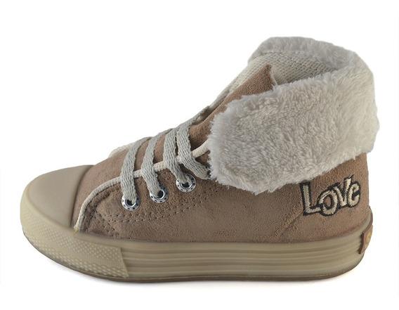 Bota Descarne-corderito Beige Small Shoes