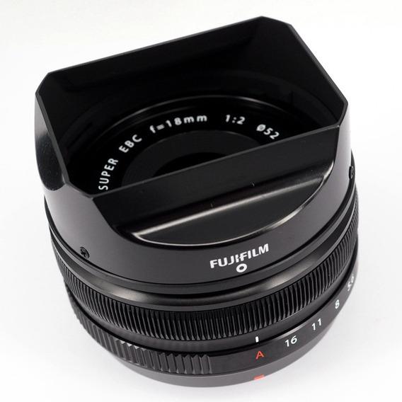 Lente Fujifilm Fujinon Xf 18mm F2 R Nova