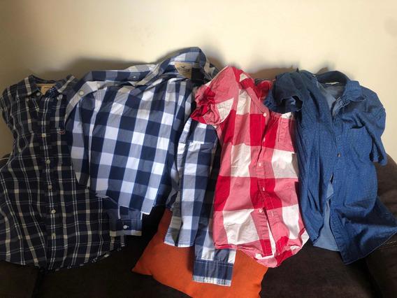 Camisetas Hollister Y American Eagle
