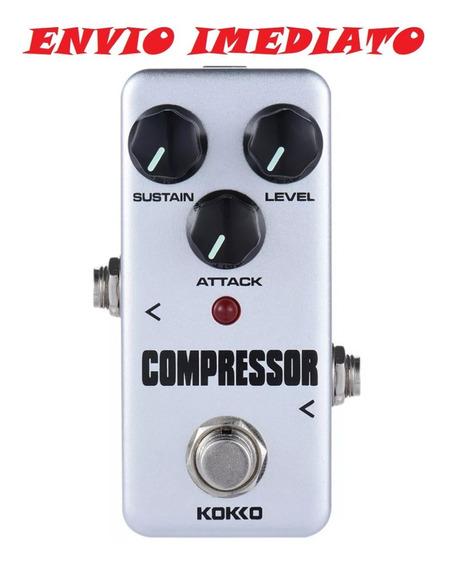 Pedal Compressor Fcp2 Kokko Efeito Guitarra Bypass Baixo Pro