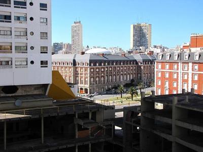 3 Amb. Con Balcón, Vista Parcial Al Mar.