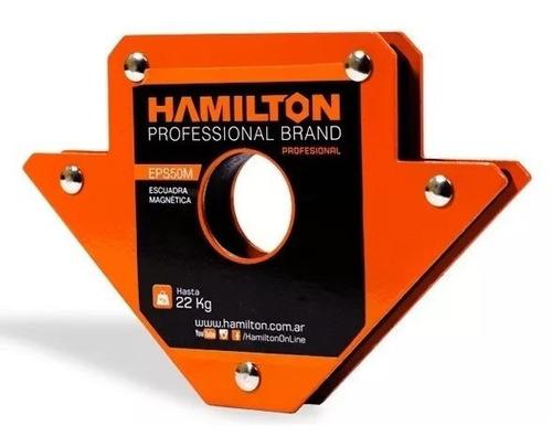 Escuadra Hamilton Magnetica  (hasta 11 Kg)