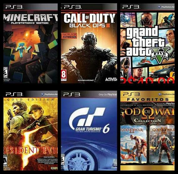 Ps3 Jogos Playstation 3 Mídia Digital* Jogos A Escolha