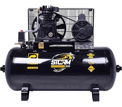 Compressor De Ar 10pcm 100l Mono Storm - Pressure