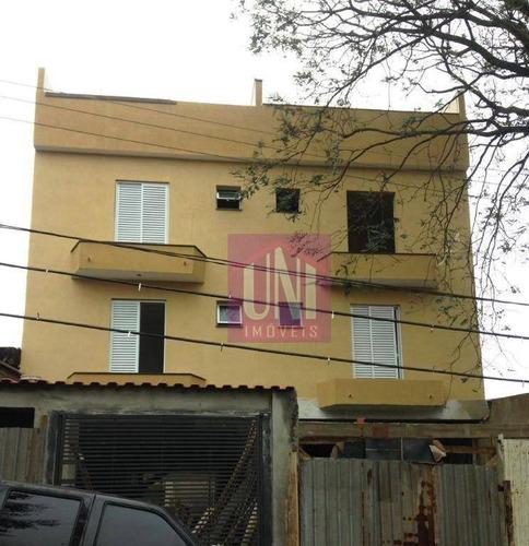 Imagem 1 de 8 de Apartamento Com 2 Dormitórios À Venda, 59 M² Por R$ 215.000,00 - Vila Guaraciaba - Santo André/sp - Ap1746