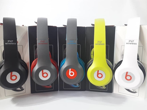 Audifonos Monster Beats Solo2 Bluetooh Mp3 Mic Fm + Cable