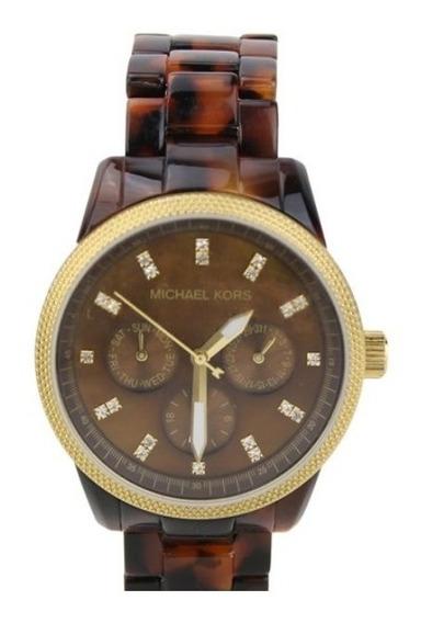 Relógio Feminino Michael Kors Tartaruga Mk 5399