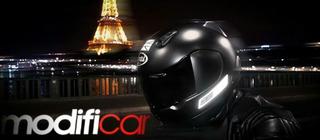 Calcomanía De Seguridad Reflejante Motocicleta
