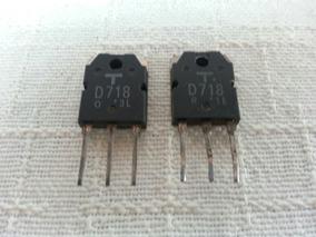 Transístores Toshiba D-718 Amplificador Gradiente 76/86/126