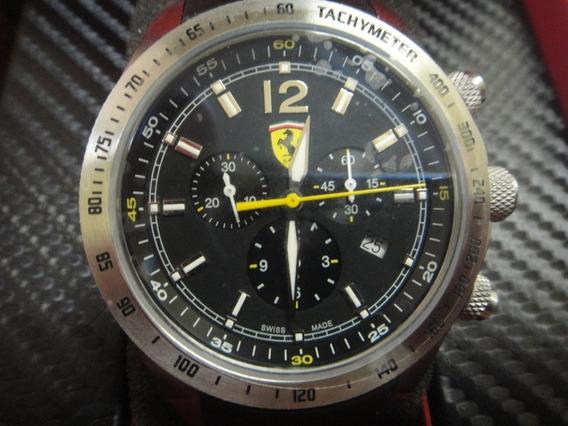 Relógio Chronograph Ferrari Na Caixa