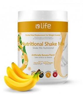 Shake Para Emagrecer Substitui Refeição - Sabor Banana 748g