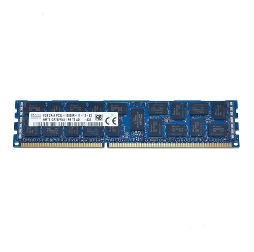 Memoria  Ram Servidores 8 Gb Ddr3 2rx4 Pc3l-12800r Ecc Reg