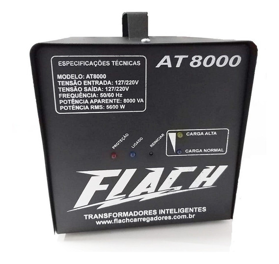 Auto Transformador Inteligente At 8000 - Flach