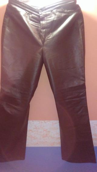 Pantalón Cuero Y Falda En Cuero Sintético