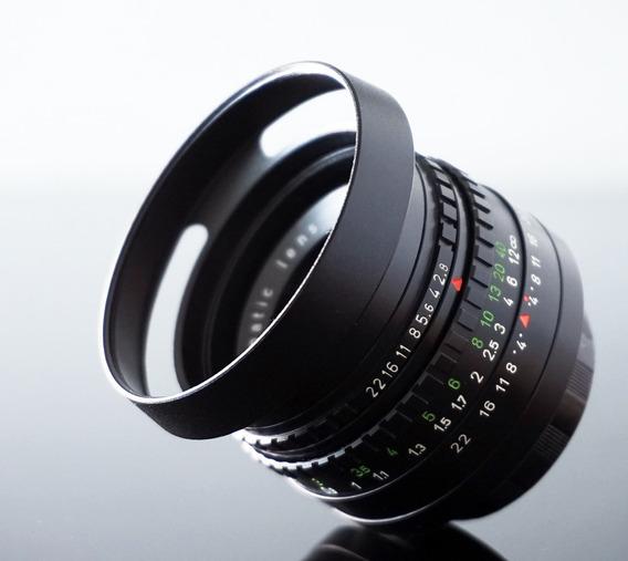 Lente Domiplan 50mm - M42 - Bokeh + Adaptador Sony E-mount
