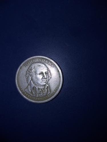 $1 Moneda De John Adams 2nd President 1797-1801