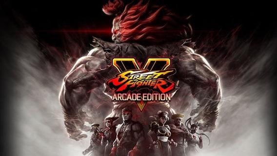Street Fighter V Arcade Edition Pc (mídia Física)