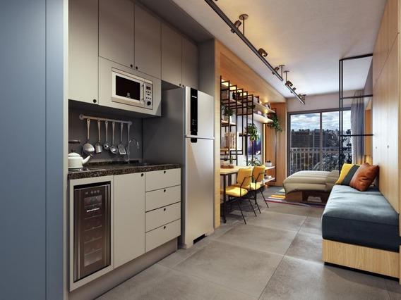 Studio Residencial À Venda, Lançamento, Pinheiros, 26,70m²! Entrega Em Nov/2022! - It55340