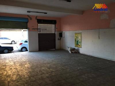 Salão Para Alugar, 87 M² Por R$ 1.700 - Alto Ipiranga - Mogi Das Cruzes/sp - Sl0022