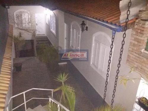 Sobrado Com 3 Dormitórios À Venda, 320 M² Por R$ 760.000 - Jardim Munhoz - Guarulhos/sp - Ai11930