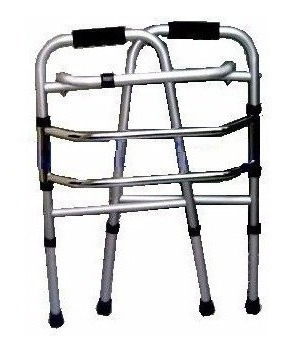 Andador Ortopédico Plegable De Aluminio Antideslizanteªªªªª